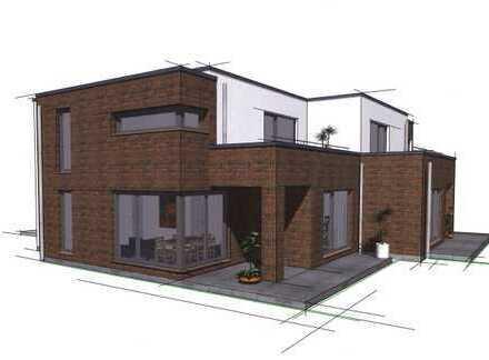 Neubau eines Einfamilienhauses im Verbund in Sasel