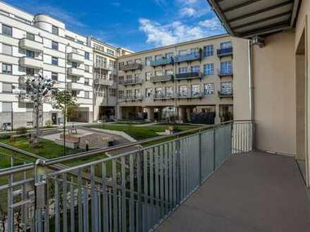 Ab Mitte Juli: Familienwohnung | 4 Zi | Gartenanteil | Einbauküche | Parkett | 2 Bäder | Balkon