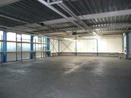 """""""BAUMÜLLER & CO."""" ca. 2.500 qm Lagerhalle mit Rampenandienung nahe B26"""