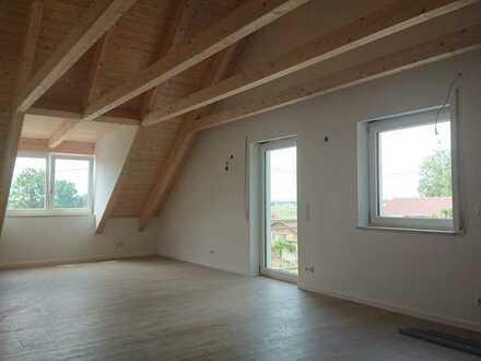 Erstbezug: 3,5-Zimmer-DG-Wohnung in Hebertshausen im Ortsteil Sulzrain
