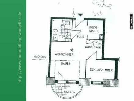 2 Zi. Kü. Bad Balkon - barrierefreie DG-Wohnung 51 m² - Ideal auch als Kapitalanlage!