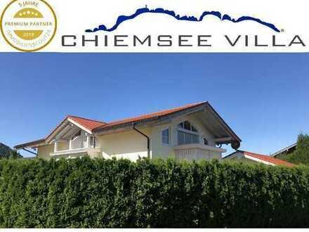 Wohlfühlhaus in herrlicher Sonnenlage von Chiemsee Villa Immobilien