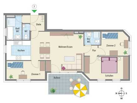Jetzt Video-Besichtigung in der Neckarlust! Wohnung bereits im Innenausbau!