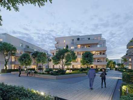 3-Zimmer-Wohnung mit besonders großzügigem Wohn-Ess- und Kochbereich sowie Dachterrasse