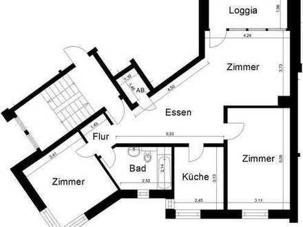 sanierte 3 Zimmer-Wohnung