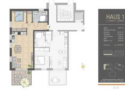 Bis ins hohe Alter selbstbestimmt in den eigenen vier Wänden leben - Haus 1, Ebene 2, Whg. 1.5