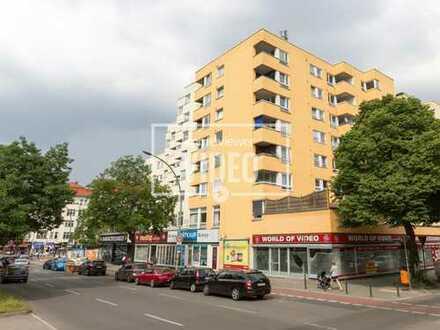 Arbeiten in Wilmersdorf mit guter Verkehrsanbindung + 5 Räume, Teeküche, getrennte WC-Anlage +Aufzug