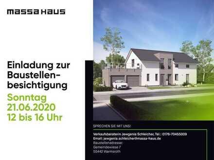 Tag der offenen Tür am Sonntag 21.06.20 von 12 bis 16 Uhr bei unserer Baufamilie in Warmsroth!