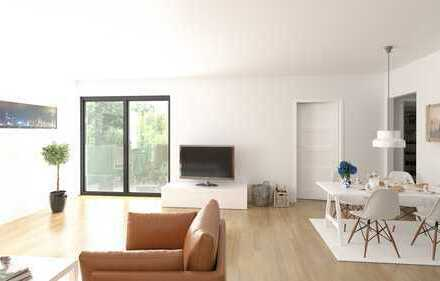 2/19 - Erdgeschoss - freundlich & modern - 3 Zimmer Wohnung - pflegeleichter Garten - barrierearm
