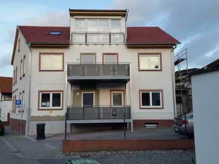 Erstbezug nach Sanierung: barrierefreie 4-Zimmer-Wohnung mit großem Balkon in Osthofen