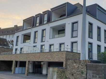 LUXUS-NEUBAU 2 ZKB Dachgeschoss-Wohnung mit traumhafter Aussicht und barrierefrei