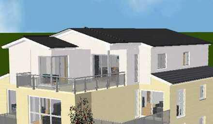Erstbezug! OBERGESCHOSS 3 Zimmer Wohnung mit herrlicher Dachterrasse