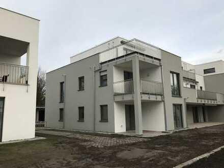 Erstbezug Nähe Obersee: exklusive 3-Zimmer-Wohnung, 86 qm mit Siematic Küche und Balkon