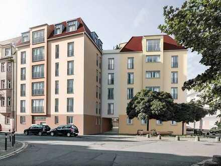 Erstbezug mit EBK und Balkon: hochwertige 1,5-Zimmer-Wohnung in Nürnberg