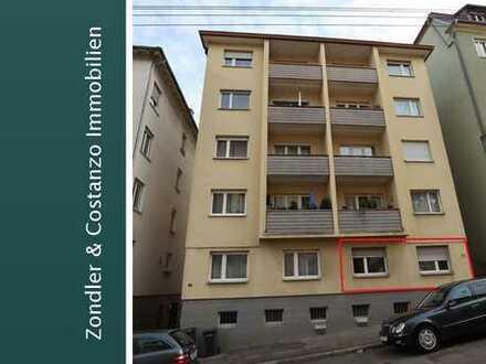 * IM WESTEN: Schöne 3-Zi.-Wohnung mit ca. 70 qm Wfl. + Garage + Lager/Keller + Bühne * vermietet *