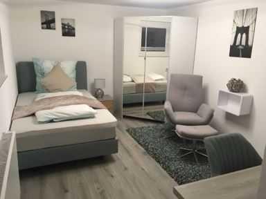 Exklusive, neuwertige und möblierte 1-Zimmer-Wohnung in Aalen-Waldhausen