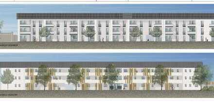 Neubau! Staatl. Mietvergünstigung! Schöne 2-Zimmer-EG-Wohnung mit Terrasse in Vaterstetten