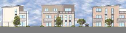 Neubau von 4 Mehrfamilienhäusern mit Tiefgarage