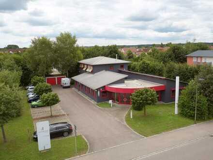 Moderne Büroflächen inkl. Atelier/Studio/Lager in Mertingen - Top Lage!