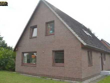 Verkauf eines gepflegten Einfamilienhauses mit Doppelgarage in Wolmersdorf bei Meldorf