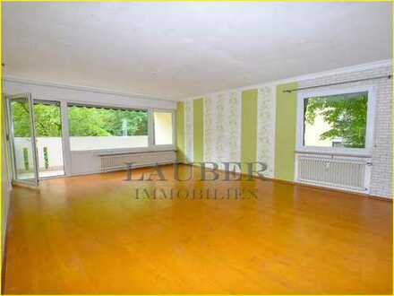 *** 3-Zi.-EG-Whg., Wfl. 90m² mit Balkon u. Stellplatz in Gelnhausen/Hailer
