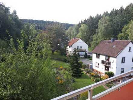 Renovierte Wohnung mit zwei Balkonen und moderner Einbauküche