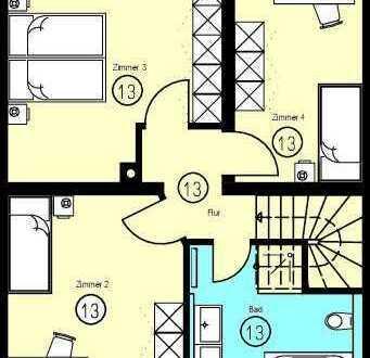 Freundliche 5-Zimmer- mit Terrasse und Garten in Borsdorf