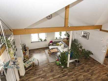 Sensationelle 5-Zimmer-Wohnung (ca. 180 qm Grundfläche) mit Galerie und Sonnenterrasse