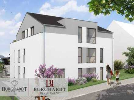 Frankfurt - Nieder-Erlenbach: NEUBAU 4 Zimmer Penthouse mit großer Dachterrasse und Taunusblick.