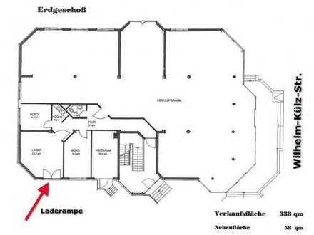 Attraktives allbranchiges Gewerbe mit ca. 338 m² großer Verkaufsfläche direkt an Wilhelm-Külz-Str.