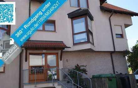 Hier will ich wohnen! 5,5 Zi.Maisonette-Wohnung - Ausblick - Feldrandlage - 130m2 - Balkon - Garage.