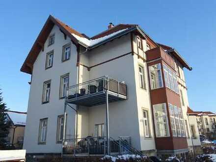 Dachterasse, Parkett und EBK // 3,5-Zi.-Maisonette in Bühlau