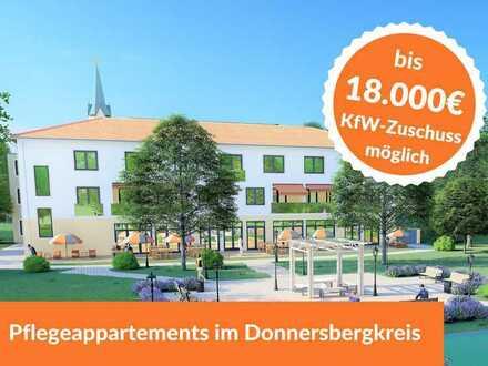 Jetzt 3,80 bis 4% Mietrendite sichern! Pflegeimmobilie im Donnersbergkreis.