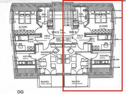 Exklusive, neuwertige 3-Zimmer-Dachgeschosswohnung mit Balkon und EBK in Reichertshofen