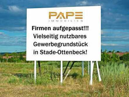 Firmen aufgepasst! Vielseitiges Gewerbegrundstück in Stade-Ottenbeck!
