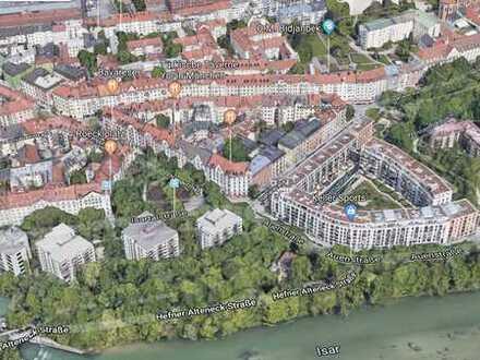 Top nach Kernsanierung 2019: 1-Zi-Wohnung mit EBK Nähe Roeckelplatz/ Isarvorstadt