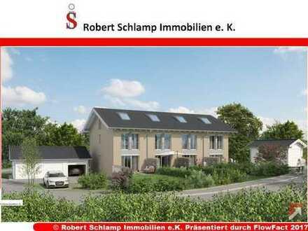 Neubauprojekt mit großer Gestaltungsfreiheit im KfW55 Standard: Reiheneckhaus in Ostermünchen