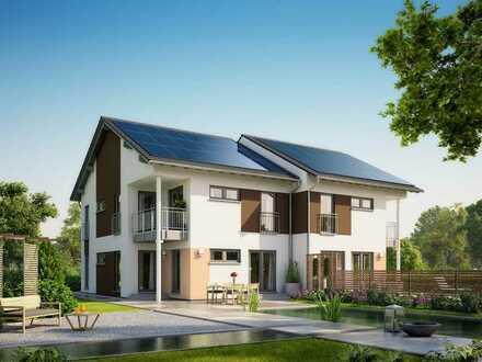Exklusive Wohnlage - Doppelhaushälfte in ruhiger Süd-Ortsrandlage