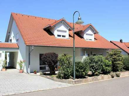 Idyllische Doppelhaushälfte in bester Randlage in Untereisesheim zu verkaufen
