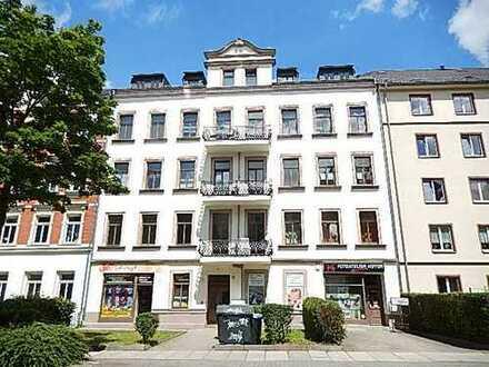 Laden, Chemnitz Kaßberg, hell und freundlich, günstiger Zuschnitt, Gesamtgröße 63,12 m²,