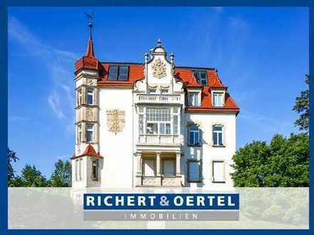 www.r-o.de +++ Etagenwohnung mit unverbautem Elbblick