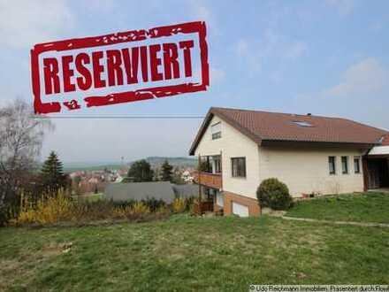 Einfamilienhaus mit Einliegerwohnung in allerbester Aussichtslage von DS-Aasen!!