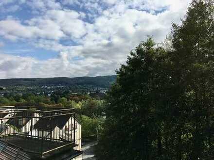 Ruhige 3Zi DG Wohnung mit Balkon und Blick über Haspe- nahe S-Bahn Heubing