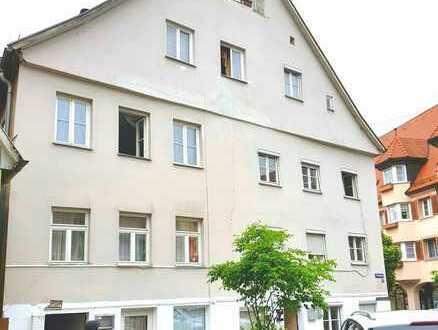 Mitten in Ellwangen - Mehrfamilienhaus mit 8 Wohneinheiten + Gewerbe