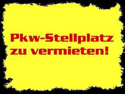 PKW-Stellplatz im Freien - sofort frei