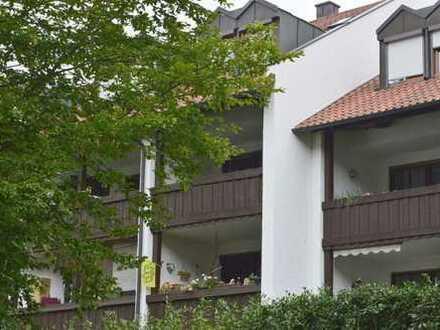 Gepflegte 3-Zimmer-Wohnung mit großzügigem Südbalkon