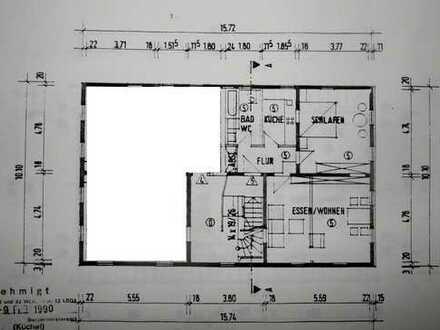 Gepflegte 2-Zimmer-Wohnung mit Einbauküche in Pfedelbach