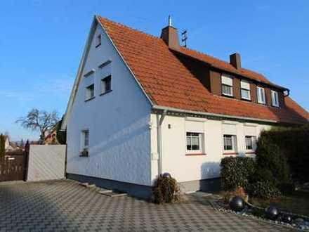 Doppelhaushälfte in ruhiger Ortsrandlage mit schönem Garten in Schömberg-Schörzingen