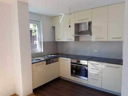 Neuwertige 3-Zimmer-EG-Wohnung mit Balkon und EBK in Obersontheim-Hausen