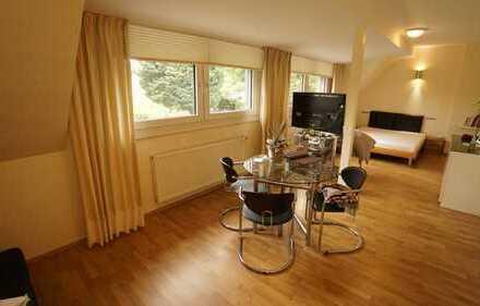 Aachen-Süd: Schöne 2-Zimmerwohnung in exklusiver Waldrandlage - auf Wunsch auch möbliert